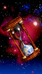 Hourglass in Space