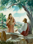 Jesus With Samaritan Woman