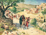 David Fleeing from Jerusalem