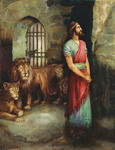 Daniel Cast Into Lion's Den