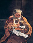 St. Joseph and the Infant Child