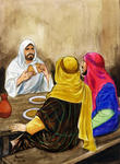 Emmaus Road, 3: Jesus Eats With the Men