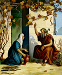 Elijah and a Widow of Zarephath