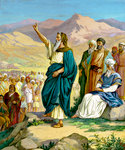 Moses' Farewell to Israel
