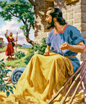 Barnabas Finds Saul